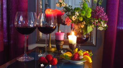 Wir trinken Wein und dann …