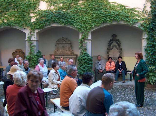 Museumsveranstaltung Angelika Wilhelm