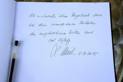 Stanislaw Tillich besucht Ringelnatz-Geburtshaus