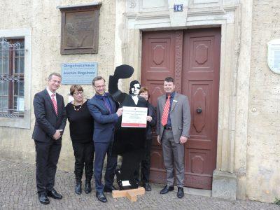 Sparkasse unterstützt Ringelnatz-Geburtshaus