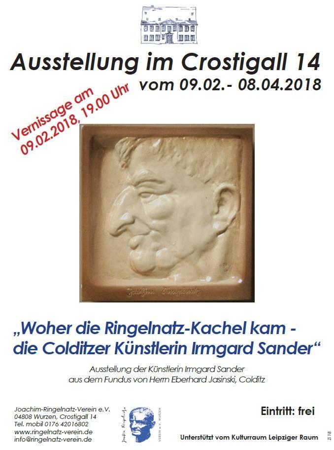 Vernissage Woher Die Ringelnatz Kachel Kam Joachim