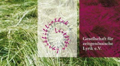 Ringelnatzverein ist Partner der Gesellschaft für zeitgenössische Lyrik e.V.